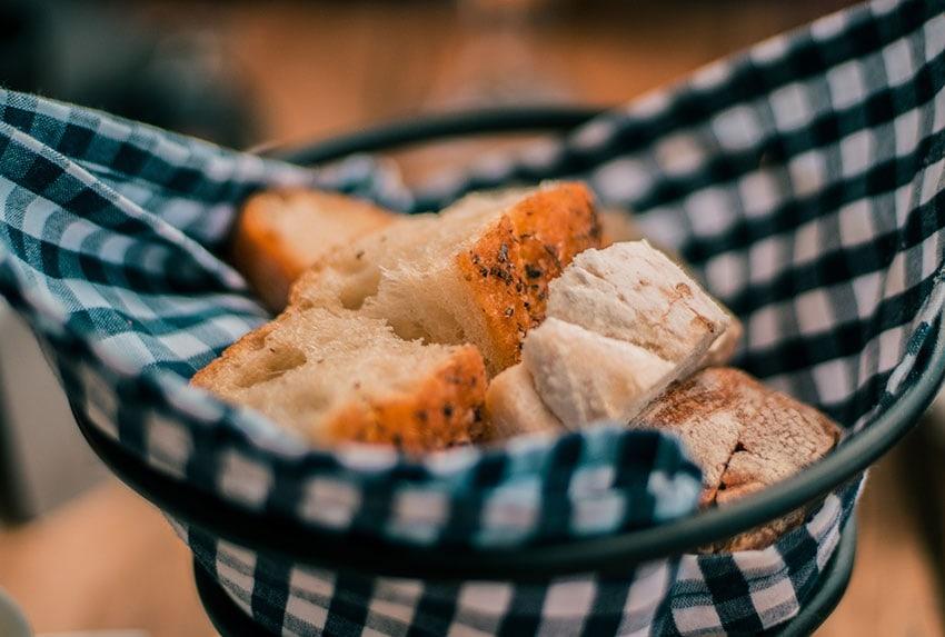bread in a bowl