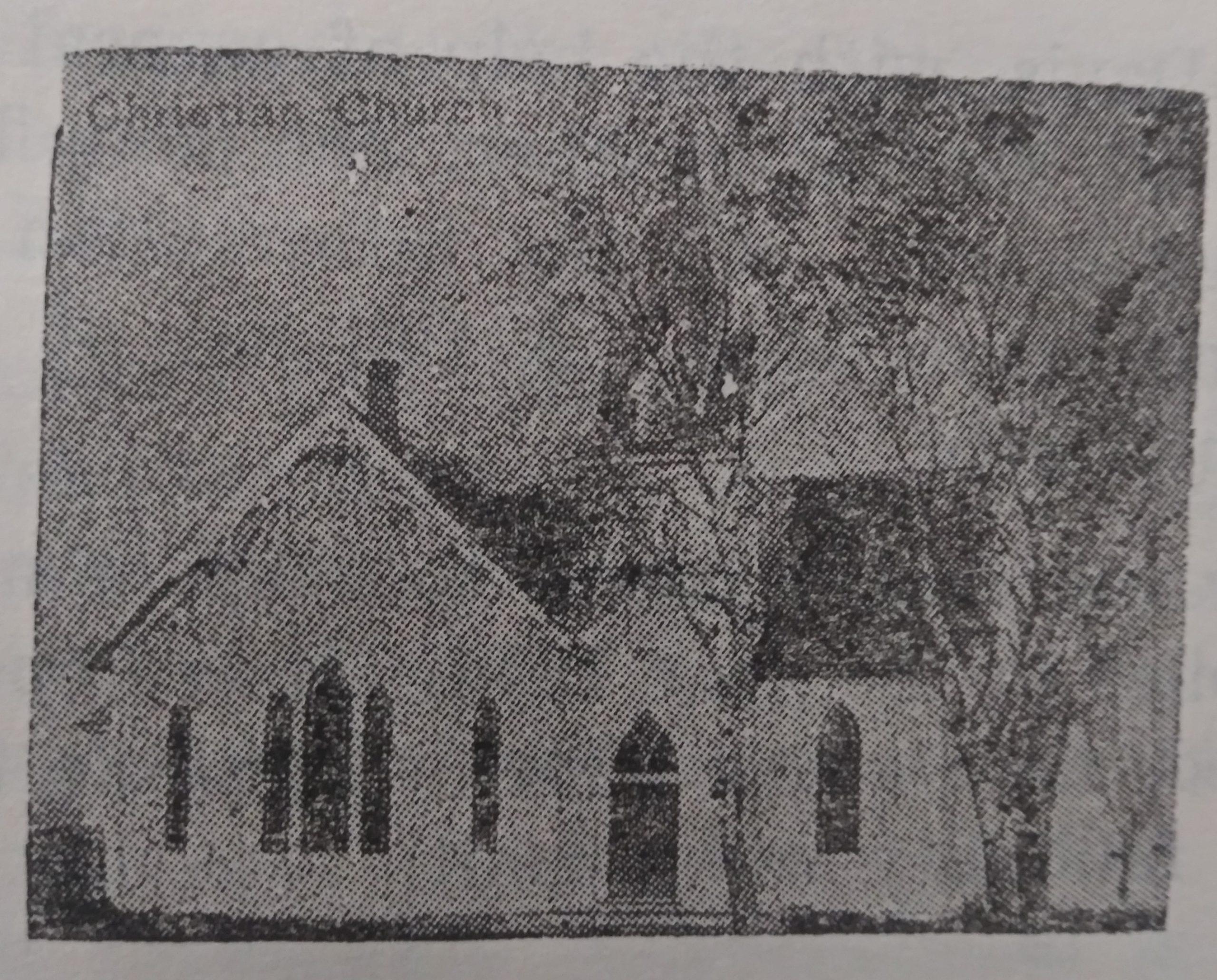 Christian Church Building November, 1876-May, 1929